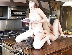 Remy LaCroix together with Cassidy Klein at one's fingertips Sextape Lesbians