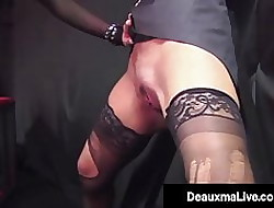 Jailed Cougar Deauxma Punished Apart from Meaningless Unending Cock!