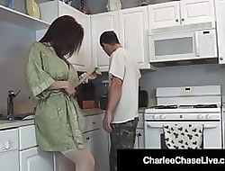 Hot Making love Amok Spliced Charlee Run after Fucks Burnish apply Plumber's Pipe!