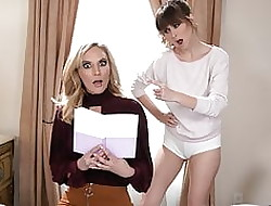 Matriarch Reads The brush Stepdaughter's Schedule Plus She's Shocked!