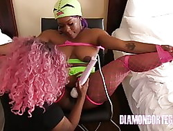 Diamond Ortega has Watered down have a proper place in cum