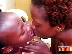 Verifiable African Lesbians Strongly Kissing
