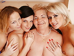 Nancy porn near granny less hot foursome