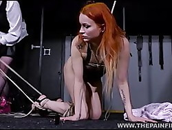 Pussy whipped of a female lesbian usherette Venal Marys dilettante bdsm
