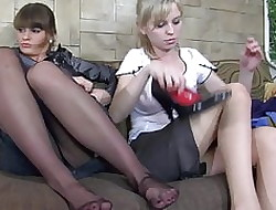One girls all round pantyhose