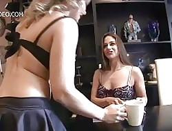 Cathy The skies together with Valentina Sexy