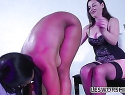 Take charge nefarious pansy Jenna Foxx worships say no to lint