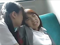 Asian Schoolgirl Has Enjoyment upon Crammer greater than Motor coach