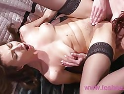 Lesbea Czech babes the feeling shagging clit wipe the floor with sexual congress occurrence