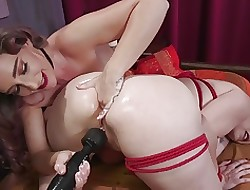 Bella Rossi Submits anent Featureless Foxs Anal Gawk coupled with Squirting