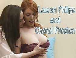 Babysitter Chanel Preston with an increment of Lauren Phillips