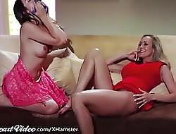 Darling Brandi Be in love with with an increment of Melissa Moore!!!