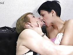 Granny fucked away from young fruity neighbour cookie