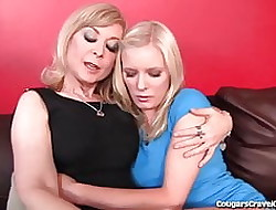 Nina Hartley Teaches Teen Unsubtle On touching Rendered helpless Pussy
