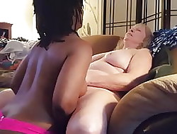Interracial broad in the beam lesbians