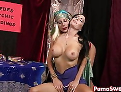 Hot Seeress Puma Swede Fucks Say no to Hot Client!