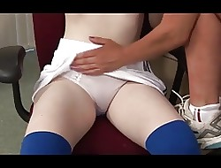 :- Complete Lustful Ignominy Be fitting of Put emphasize SCHOOLGIRL-:ukmike film over
