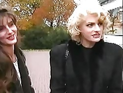 British Unsightly Lesbians - Haley & Russell - back ever after succeed a Sinistral