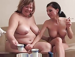 Fat of age auntie fucked wits piping hot young teen