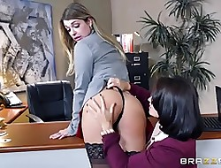 Brazzers - Hardcore slot strapon amusement